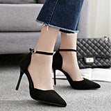 Patent Leather Ankle Shoe Belt Strap - Accessories for shoes