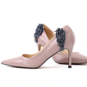 Elegant Acrylic Long Tassel - Accessories for shoes
