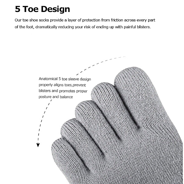 Lightweight Toe Socks - Accessories for shoes
