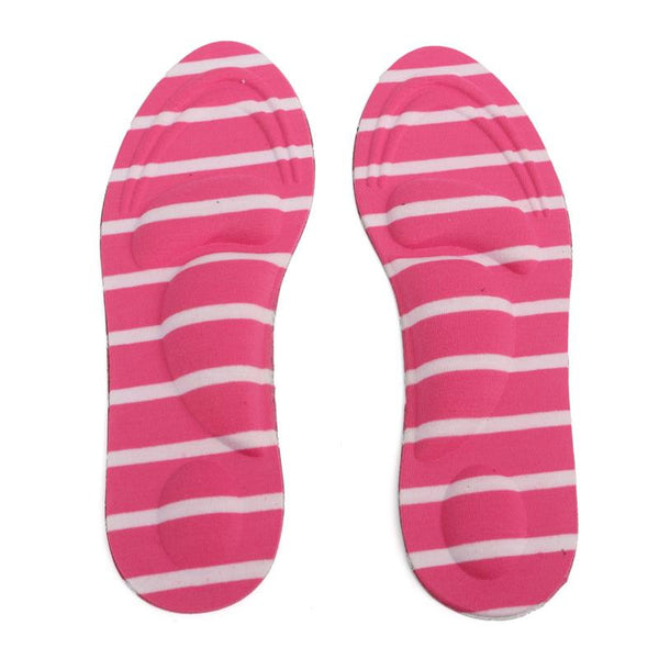 One-pair Women Feet Care Massage High Heels Sponge 3D Shoe Insoles Cushions Pads - Accessories for shoes