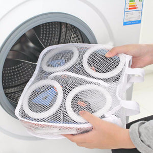 Portable Laundry Storage Organizer Mesh Shoes Bag - Accessories for shoes
