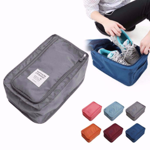 One-piece Travel Storage Bag Nylon Portable Organizer Bag - Accessories for shoes