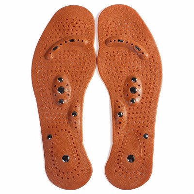 One-pair Magnetic Therapy Massage Insole - Accessories for shoes
