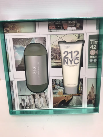 212 NYC Carolina Herrera Gift Set NIB - Fragrance