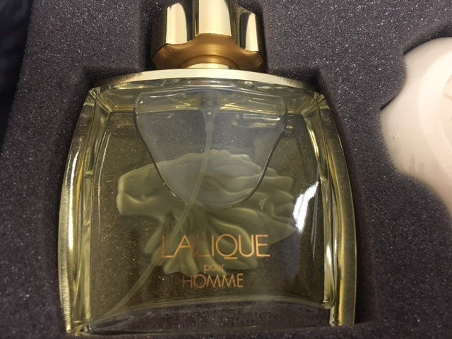Lalique Pour Home Gift Set for Men NEW - Fragrance