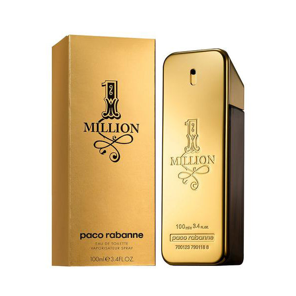 1 Million Eau De Toilette for Men, Paco Rabanne - Perfume Gems