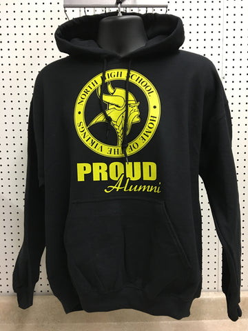 North Alumni Hooded Sweatshirt
