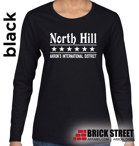 North Hill International District LADIES LONG SLEEVE