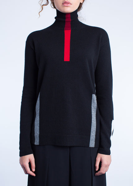 SEGMENTS AND FRAGMENTS TURTLENECK