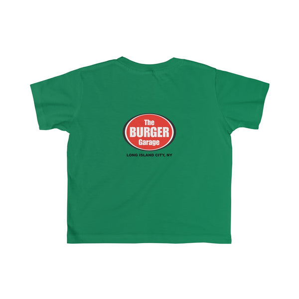 French Fries T-shirt Toddler Kids, Green