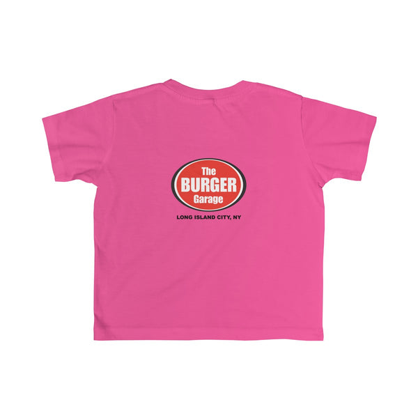 Homemade Lemonade Tshirt for Toddler Kids, Pink, Burger Garage