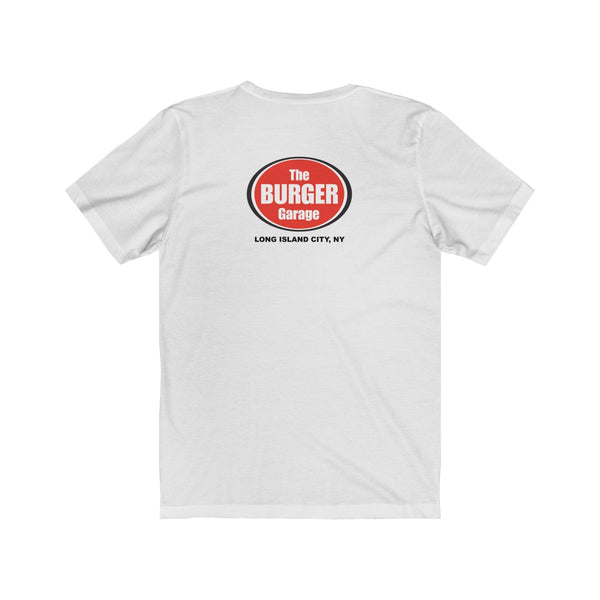 The Burger Garage Fresh Squeezed Lemonade Short Sleeve Men's T-Shirt, White