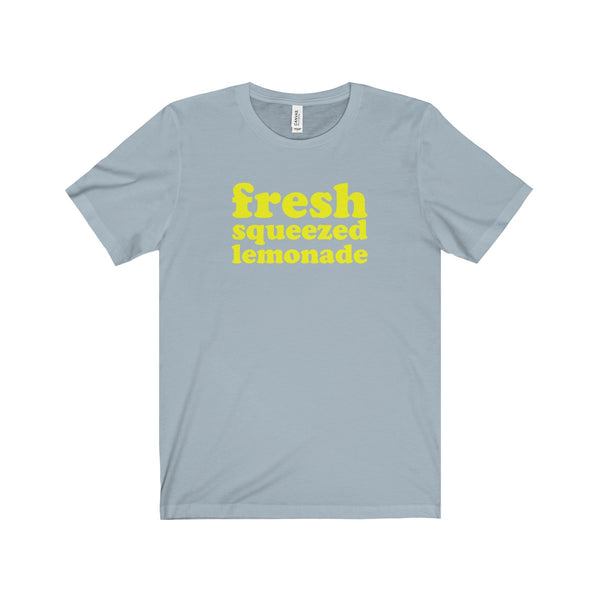 Fresh Squeezed Lemonade Short Sleeve Men's T-Shirt, Blue