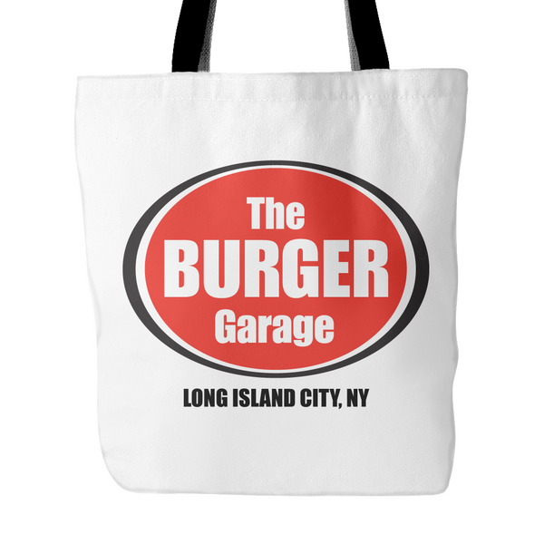 The Burger Garage Tote Bag, White