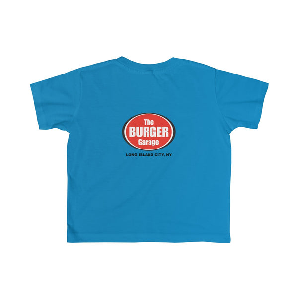 Homemade Lemonade Tshirt for Toddler Kids, Blue, The Burger Garage