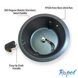Ropot - Inner Pot with Paddle - free shipping -  Included when purchase Ropot