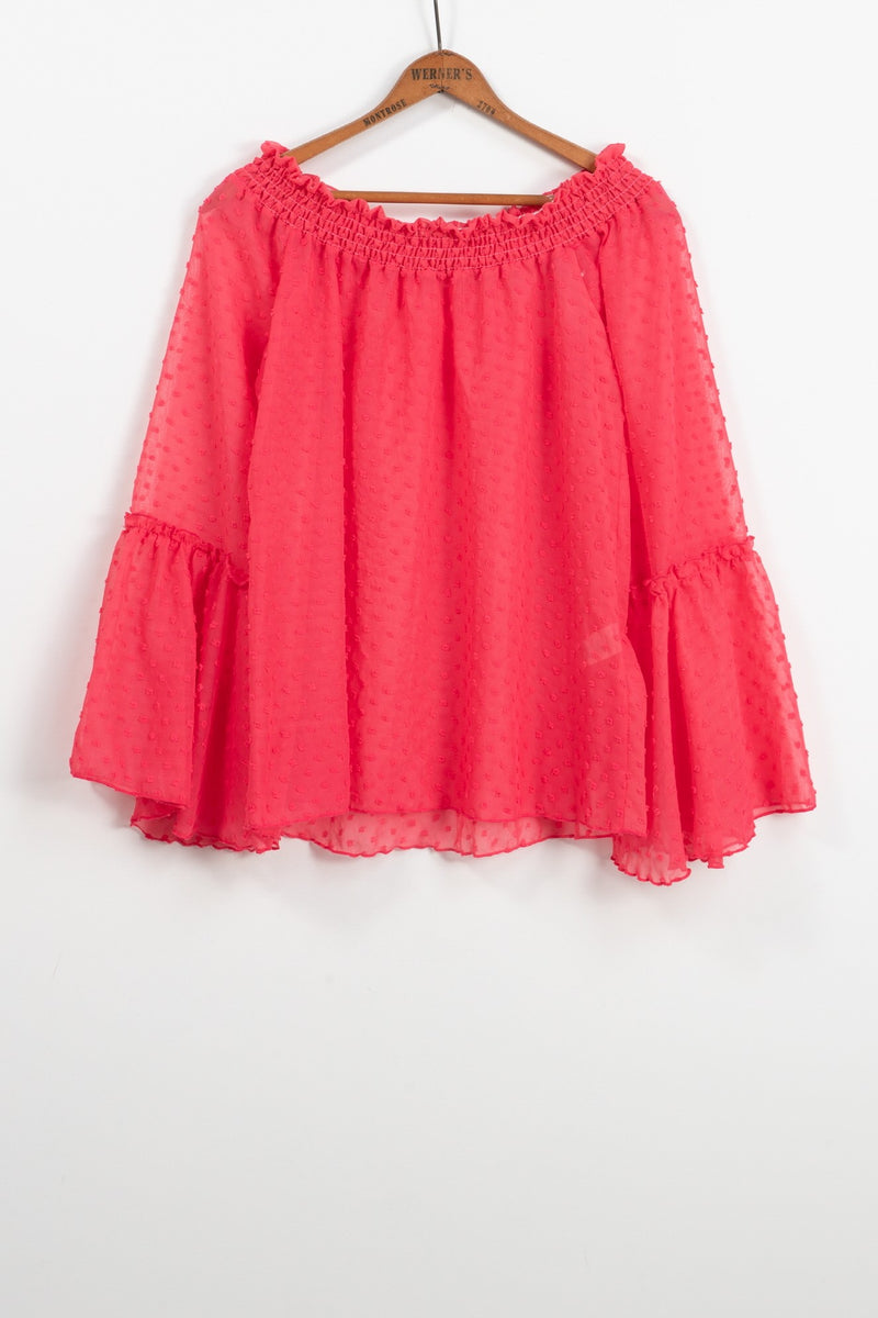 Coral Dixie Blouse