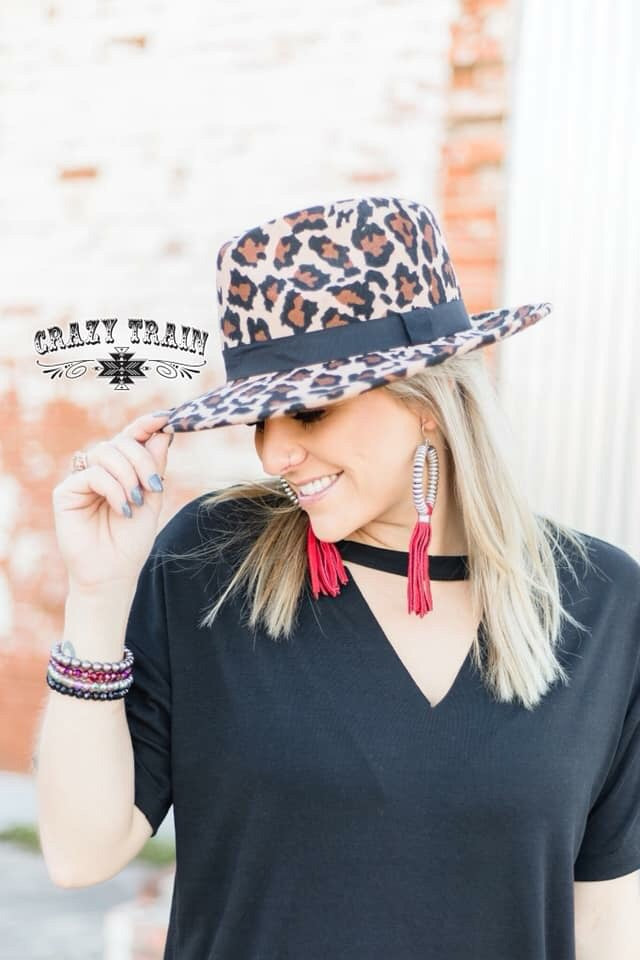 The leopard wild bill hat