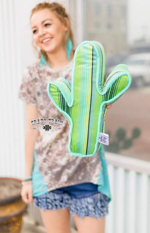 Cactus Craze Pillow