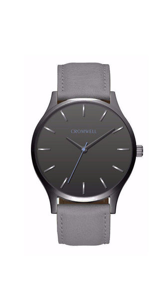 "40mm ""Pismo"" - Gunmetal Case, Gunmetal Face"