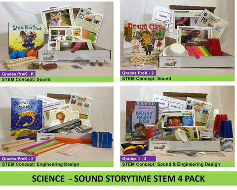 Science - Sound Storytime STEM  4 Pack
