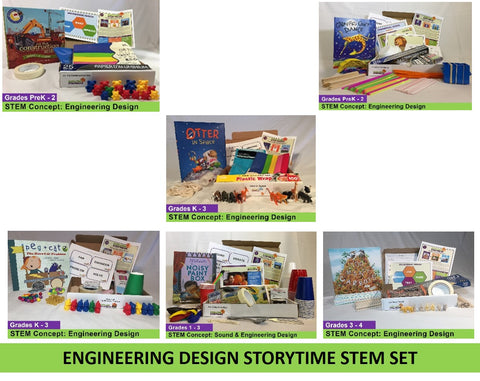 Engineering Design Storytime STEM 6-pack