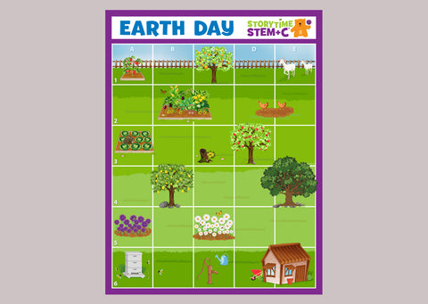 Earth Day Adventures Vinyl Mat (1)