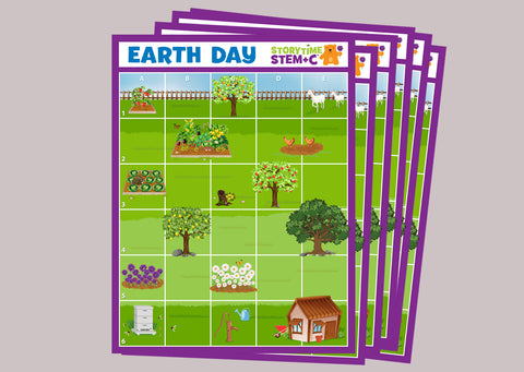 Earth Day Adventures Vinyl Mats (6)