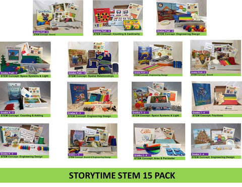 STEAM Lab Starter Pack (15 Storytime STEM-packs)