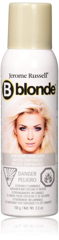 Jerome Russell B-Blonde Temporary Highlight Spray, Platinum Blonde, 3.5 oz