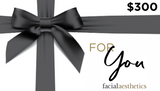 Facial Aesthetics Gift Card