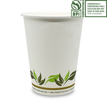 Load image into Gallery viewer, Compostable Paper Coffee Cups - Pacific Green Products