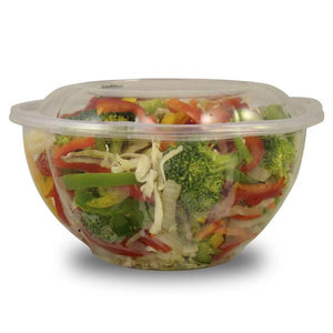 Clear, PLA Salad Bowl - Pacific Green Products
