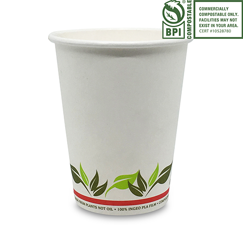 Compostable Paper Coffee Cups - Pacific Green Products