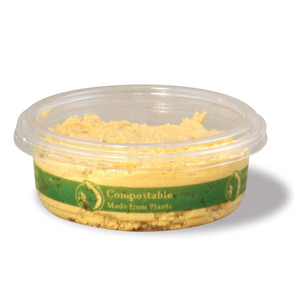 "Compostable Clear ""Deli Round"" Containers - Pacific Green Products"