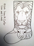 Lion and Lamb stocking