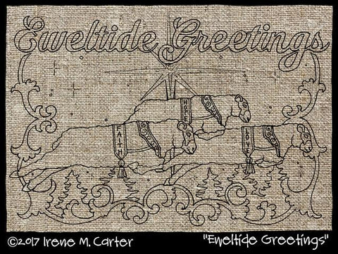 Eweltide Greetings Pattern