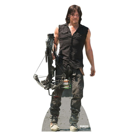 The Walking Dead Daryl Dixon With Crossbow Standee