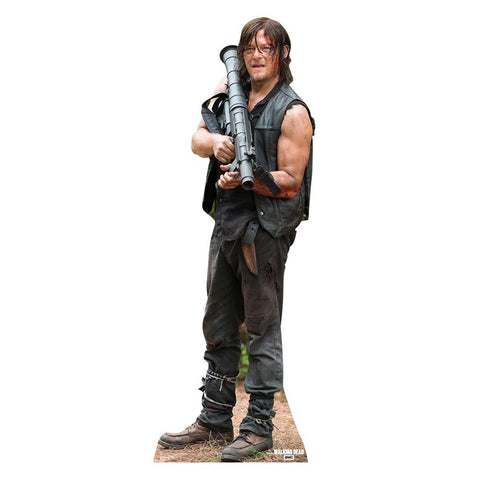 The Walking Dead Daryl Dixon With Bazooka Standee