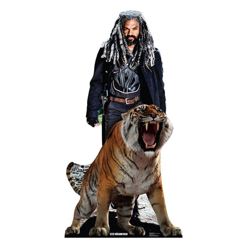 The Walking Dead Ezekiel and Shiva Standee