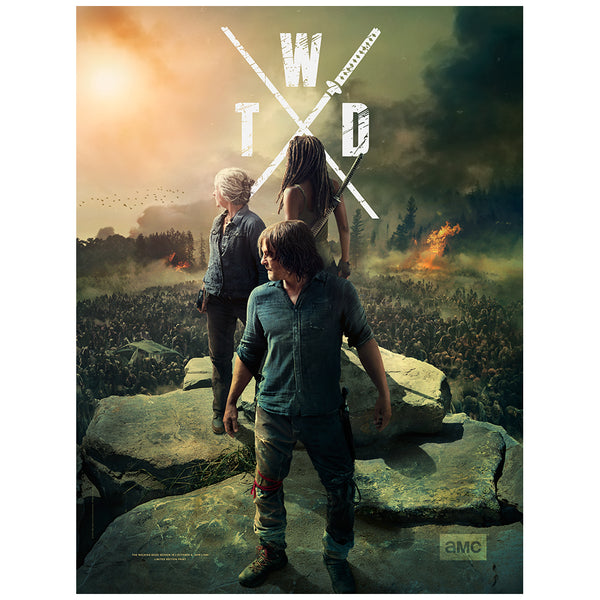 The Walking Dead Season 10 Fan Horde Poster