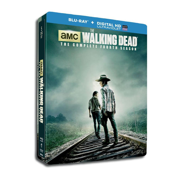 The Walking Dead Season 4 Steelbook Blu-ray Set