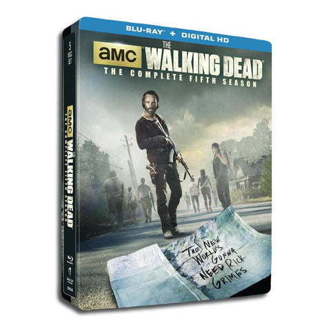 The Walking Dead Season 5 Steelbook Blu-ray/UltraViolet Set