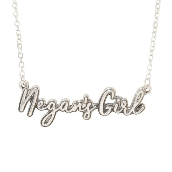 The Walking Dead Negan's Girl Necklace