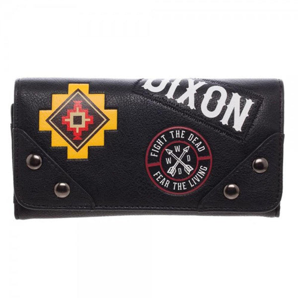 The Walking Dead Daryl Patches Flap Wallet