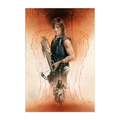 The Walking Dead: Drifter Giclee Print Signed and Numbered by Brian Rood
