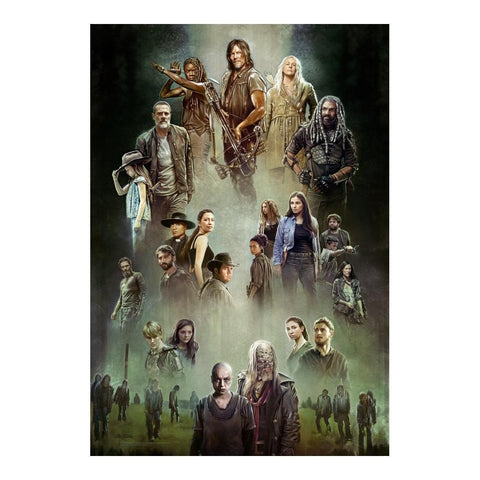 The Walking Dead: Season 9 Lithograph Signed and Numbered by Brian Rood