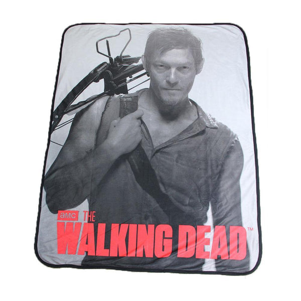The Walking Dead Daryl Dixon Fleece Throw