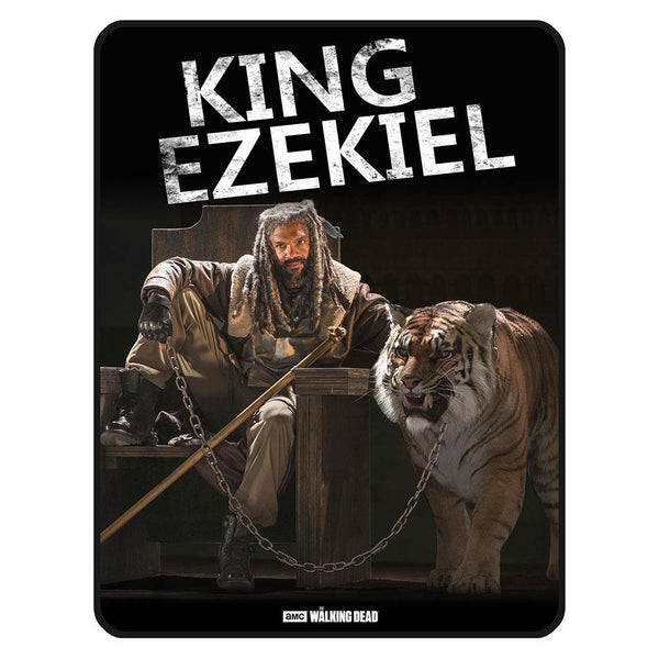 The Walking Dead King Ezekiel Fleece Throw