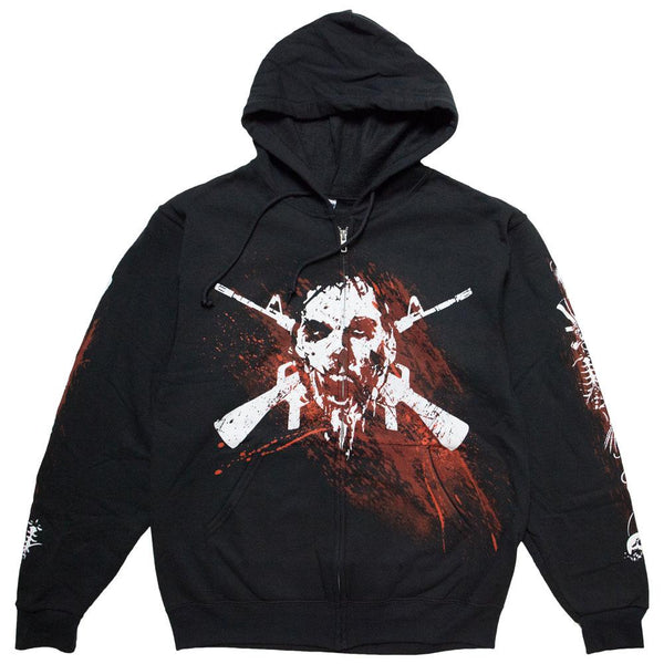 The Walking Dead Border Bones Adult Hoodie